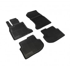 Petroplast Резиновые коврики в салон BMW 5-series 2010-, комплект 4шт