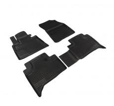 Petroplast Резиновые коврики в салон BMW X5 до 2005-, комплект 4шт