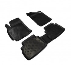 Резиновые коврики в салон Chevrolet Lacetti 2004-/ Daewoo Gentra 2012-, комплект 4шт