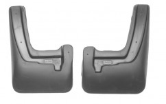 NorPlast Брызговики Kia Rio (RUS(QB) (11-) передние комплект