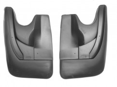 NorPlast Брызговики Lifan X60 (11-) задние комплект