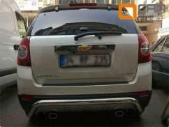 ST-Line Защита заднего бампера Chevrolet Captiva (2006-)