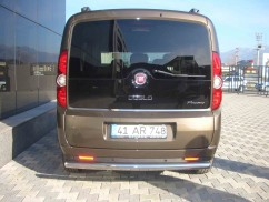 ST-Line Защита заднего бампера Fiat Doblo 2010- /ровная