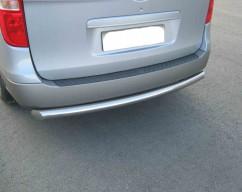 ST-Line Защита заднего бампера Hyundai H1 (2007-) /ровная