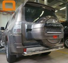 Защита заднего бампера Mitsubishi Pajero Wagon (2006-) / Ø76