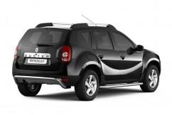 Защита заднего бампера Renault Duster (2010-) /изогнутая