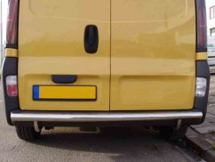 ST-Line Защита заднего бампера Renault Trafic (2001-) /ровная
