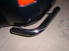 ST-Line Защита заднего бампера Suzuki Grand Vitara (2005-) /углы одинарные