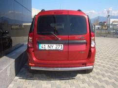 ST-Line Защита заднего бампера Dacia/Renault Logan MCV 05- /ровная