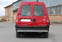 ST-Line Защита заднего бампера Fiat Sсudo 1996-2006 /ровная