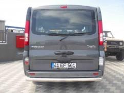 Защита заднего бампера Opel Vivaro/Renault Trafic 2001-2015 /ровная
