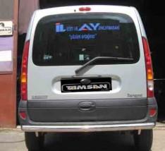 ST-Line Защита заднего бампера Renault Kangoo 1997-2008 /ровная