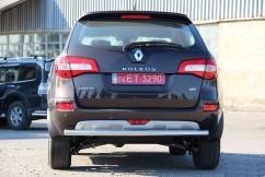 ST-Line Защита заднего бампера Renault Koleos 2012- /ровная
