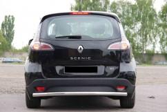 ST-Line Защита заднего бампера Renault Scenic 2009- /ровная