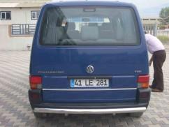 ST-Line Защита заднего бампера Volkswagen T4 1992-2002/ровная