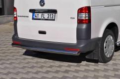 Защита заднего бампера Volkswagen T5 2003-/ровная