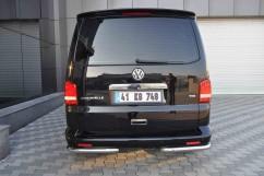 ST-Line Защита заднего бампера Volkswagen T5 2003-/углы