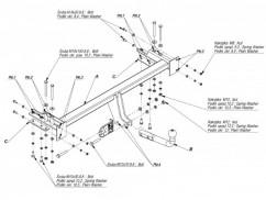Фаркоп Chevrolet LACETTI (04-) универсал