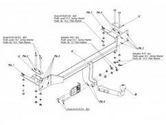 Фаркоп Chevrolet LACETTI (05-) седан
