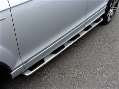 Пороги боковые (подножки) Audi Q7 2015-, Model V1