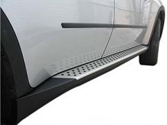 Пороги боковые (подножки) BMW X3 2011-