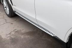 AVTM Пороги боковые (подножки) BMW X6 F16 2014-