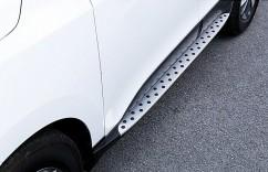AVTM Пороги боковые (подножки) Hyundai IX35 стиль BMW