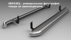 AVTM Пороги боковые (подножки) Hyundai Santa Fe 2013-