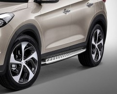 AVTM Пороги боковые (подножки) Hyundai Tucson 2015-