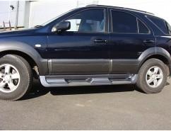 AVTM Пороги боковые (подножки) Kia Sorento 2003-2007