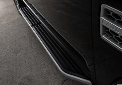 Пороги боковые (подножки) Land Rover Discovery III / IV (2004-2017)