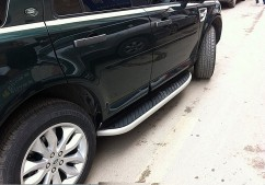 AVTM Пороги боковые (подножки) Land Rover Freelander 2