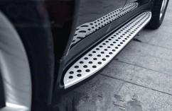 AVTM Пороги боковые (подножки) Mercedes ML164 2005-2011