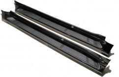 AVTM Пороги боковые (подножки) Toyota Prado 150 2009-, Черные
