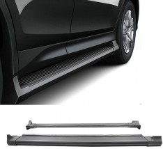 AVTM Пороги боковые (подножки) Toyota Rav4 2013-2015
