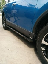 AVTM Пороги боковые (подножки) Toyota Rav4 2015-