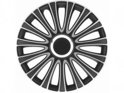 """Argo Колпаки 15"""" LEMANS PRO BLACK&SILVER (Комплект 4шт.)"""