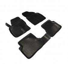 Petroplast Резиновые коврики в салон Ford Focus 3 2011-, комплект 4шт