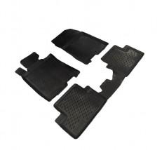 Petroplast Резиновые коврики в салон Honda Accord 2008-2012, комплект 4шт