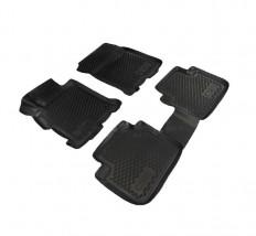 Petroplast Резиновые коврики в салон Honda Accord 2013- (3D), комплект 4шт