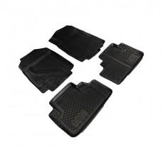 Petroplast Резиновые коврики в салон Honda CR-V 2013 (3D), комплект 4шт