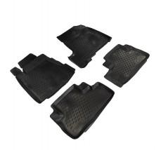Petroplast Резиновые коврики в салон Honda CR-V III 2007-2012, комплект 4шт