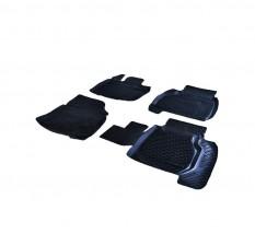 Petroplast Резиновые коврики в салон Honda Civic 5D 2006-, комплект 4шт