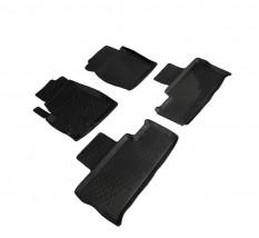 Petroplast Резиновые коврики в салон Hyundai Santa Fe 2006-2012, комплект 4шт