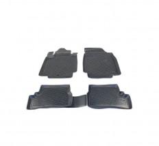Petroplast Резиновые коврики в салон Hyundai i20 2009-, комплект 4шт