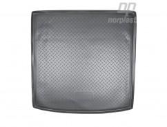 NorPlast Резиновый коврик в багажник Audi Q7 (4LB) (05-15)