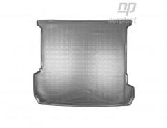 Резиновый коврик в багажник Audi Q7 (4M) (15-) (7 мест, сложенный 3 ряд)