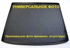 NorPlast Резиновый коврик в багажник Audi Q7 (4M) (15-) (7 мест, сложенный 3 ряд) бежевый