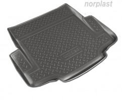 Резиновый коврик в багажник BMW 1 (E87,E81) HB (07-11)