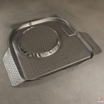 Резиновый коврик в багажник Chery Amulet (A15) SD (06-11)